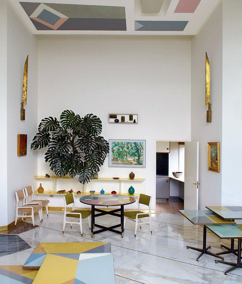 Master Of Italian Design Gio Ponti Celebrated In Paris