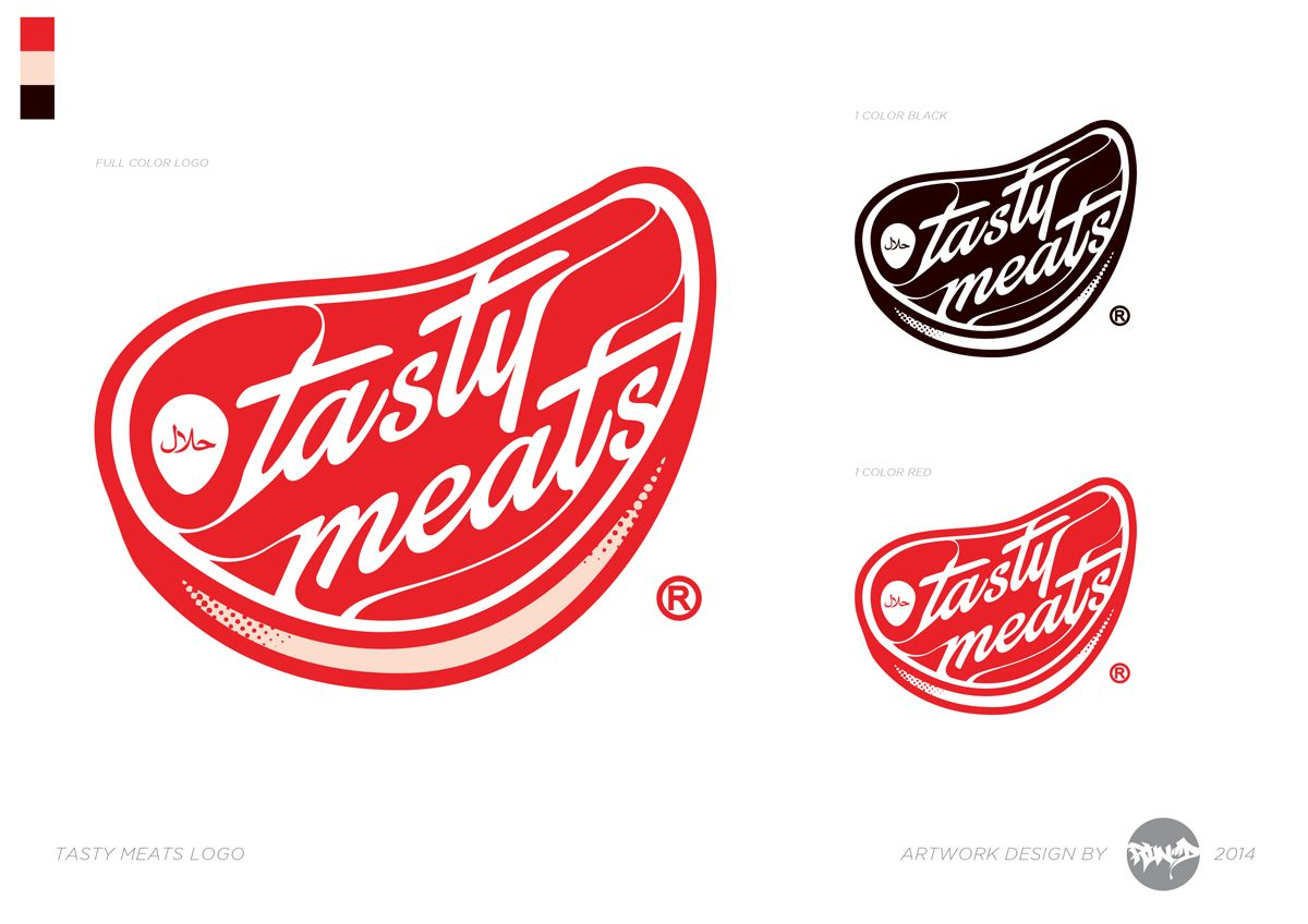 Logo Design by RunD for Upscale Meat Store Needs TASTY logo - Design #4082424