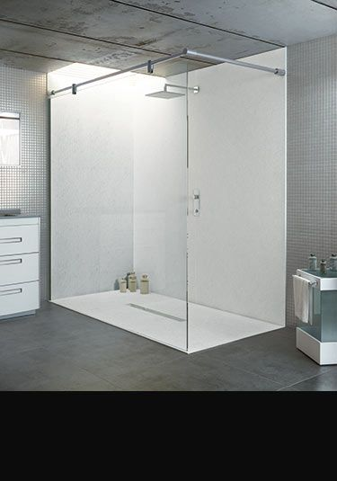 Good Large Shower Wall Panel Waterproof Bathroom And Shower Panels UK  (375×535)