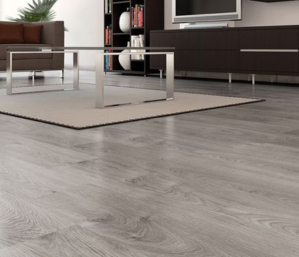 Suelo laminado basic gris ac5 leroy merlin loft grey for Suelo laminado quick step leroy merlin