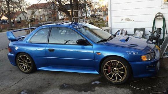 1996 Subaru Impreza 22B Kit Race Car Pikes Peak   Subaru ...