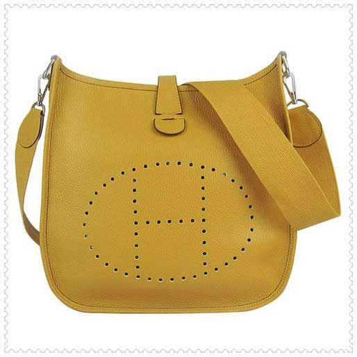Hermes Yellow Evelyne III Shoulder Bag  215.00 18cd82a6fb065