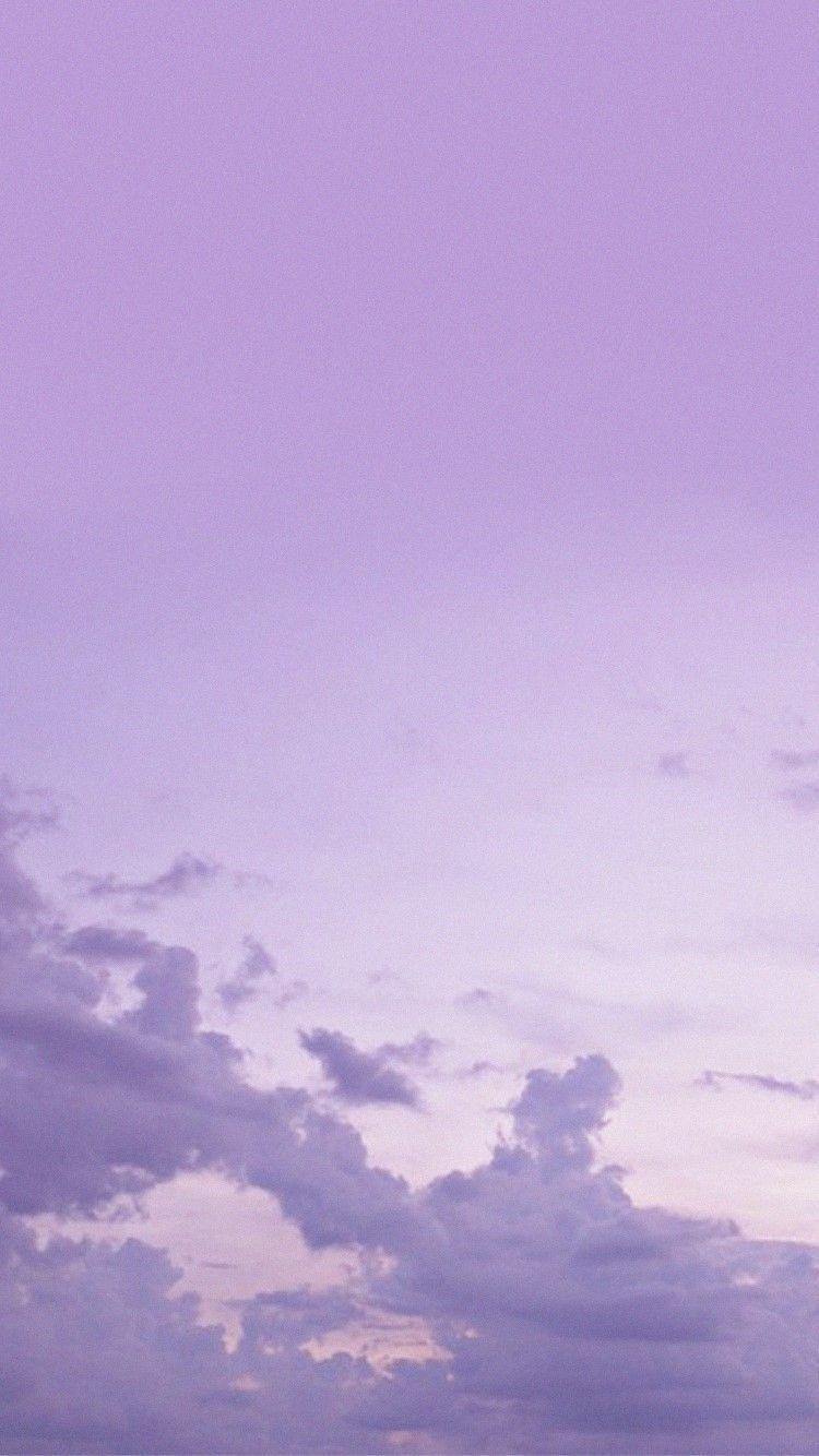 Trend Sky Aesthetic Purple Wallpaper Cloud Wallpaper