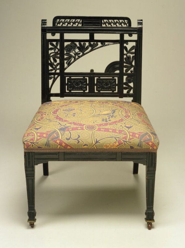 Side Chair Unidentified Artist Attrib To Herter Brothers