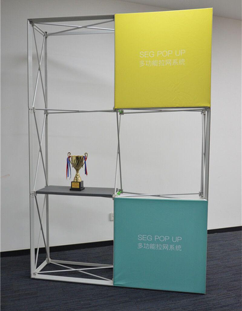 Portable Exhibition Shelves : Portable display shelves for exhibitions
