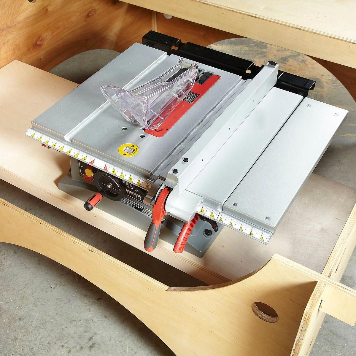 Setting Up Shop Hand Power Tools Diy table saw, Table