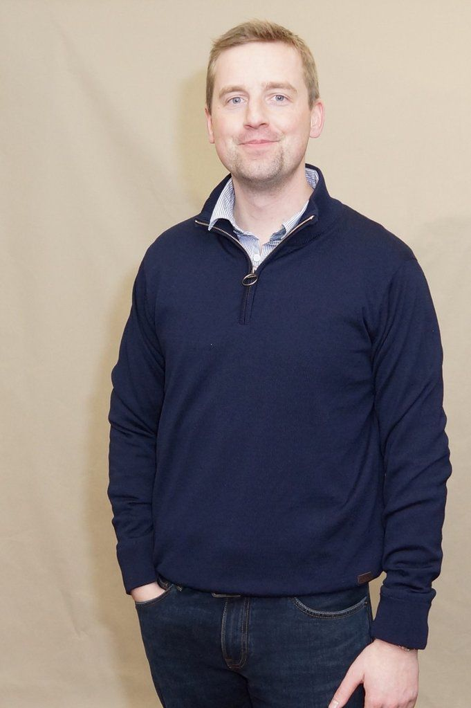 e44530fb202a6 Smyths Barbour Gamlin Half Zip waterproof sweater in NAVY MKN0931NY91 is  both stylish and very high