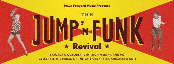 The Jump N Funk Revival by Nathaniel Winter-Hébert, via Behance