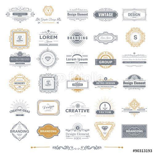 Vector: Logos set