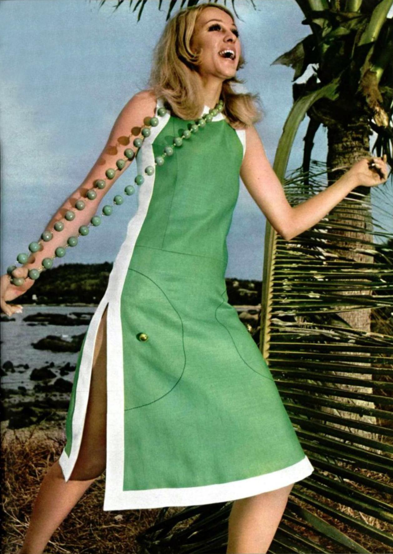 Luofficiel magazine yves saint laurent rive gauche dress