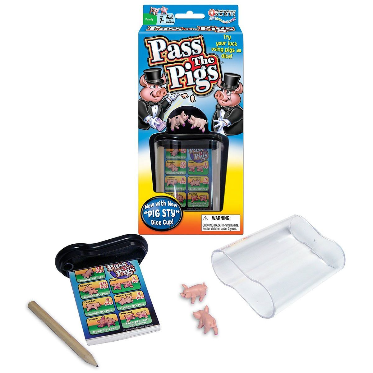Pass The Pigs Dice Game (With images) Pig games, Game
