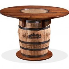 1000 ideas about whiskey barrel table on pinterest barrel f ts de vin pinterest. Black Bedroom Furniture Sets. Home Design Ideas