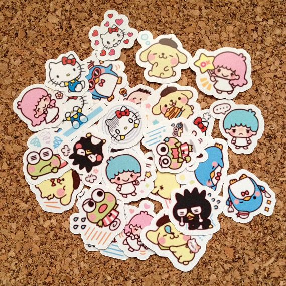 Die Cut Stickers For Scrapbooking