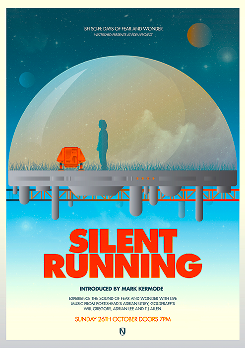 Silent Running 1972 Silent Running Movie Posters Minimalist Alternative Movie Posters