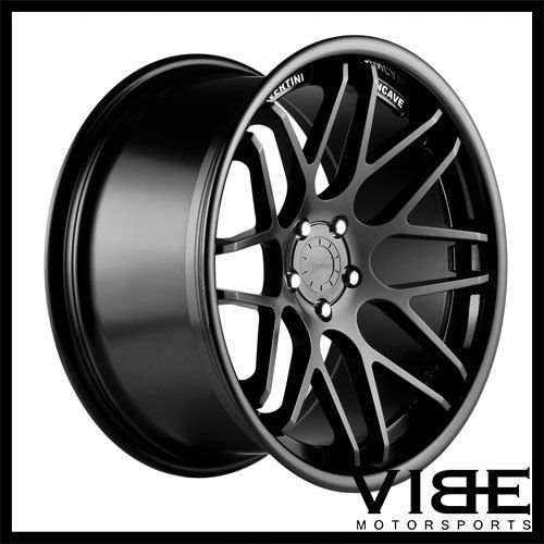 22 Vertini Magic Black Concave Wheels Rims Fits Mercedes W216 Cl550