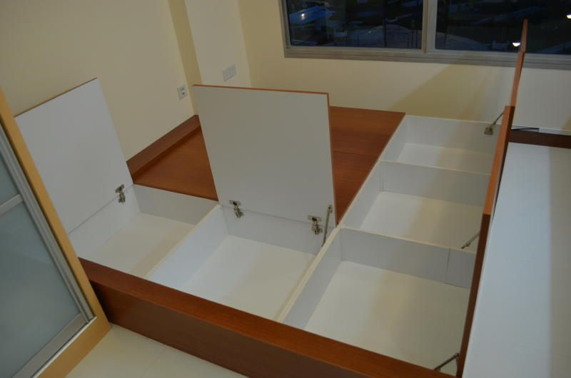 Design and Built Tatami Bed (View 4) | living room | Pinterest ...