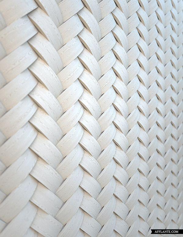 Wall Weave Relief 3d Interieur Blanc Couleur Texture
