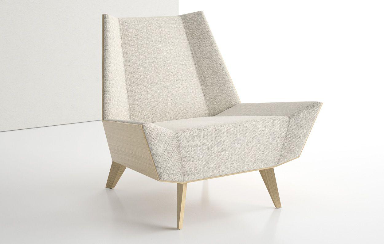 VT Avant Lounge Chair Upholstered Back