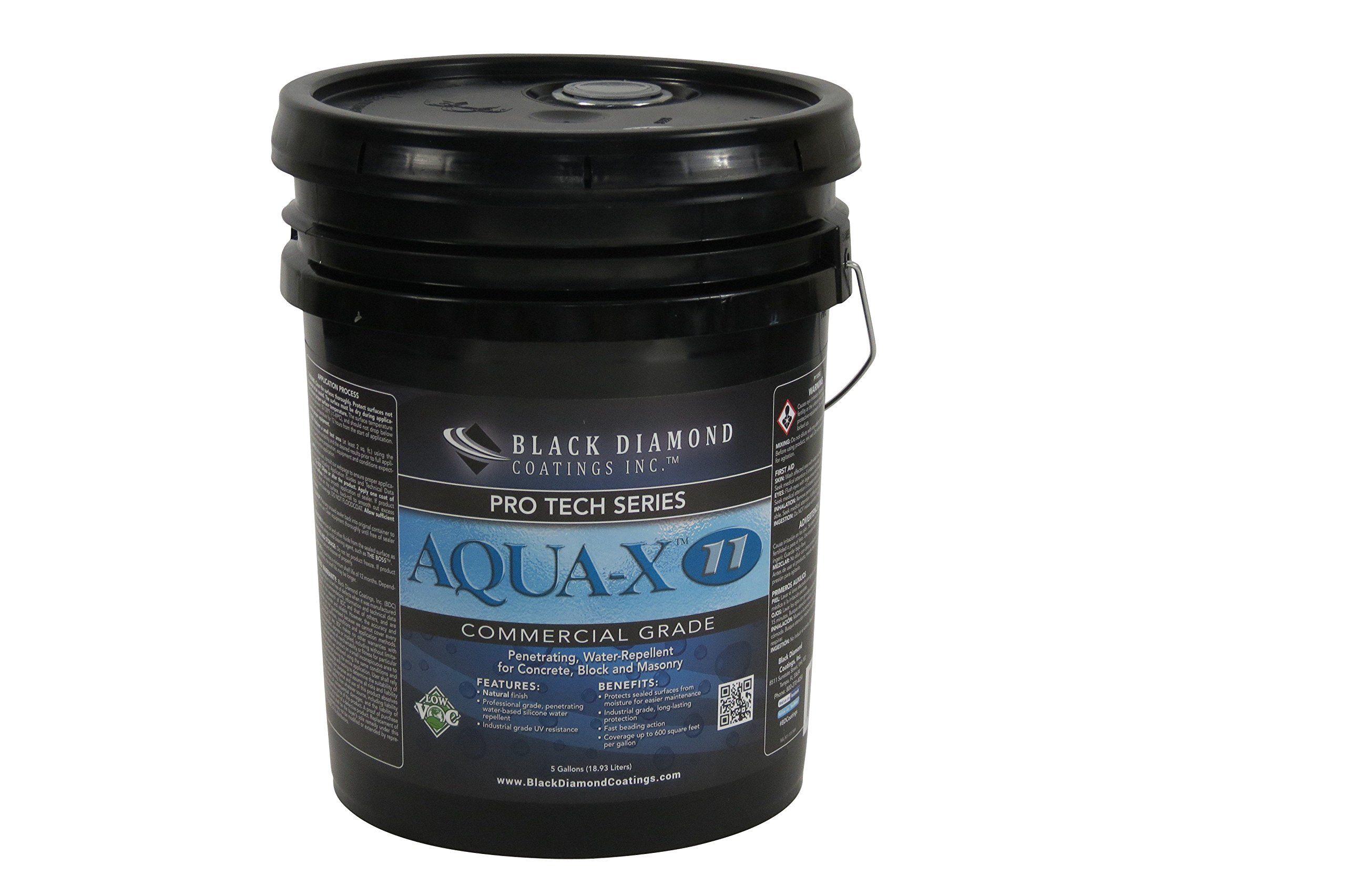 Aquax 11 Commercial Grade Concrete Masonry Clear Penetrating Concrete Sealer And Water Repellent Allinone Pro Tech Ser Wood Sealer Concrete Sealer Clay Pavers