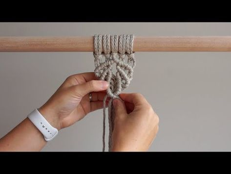 DIY Macrame Tutorial - Shell Pattern