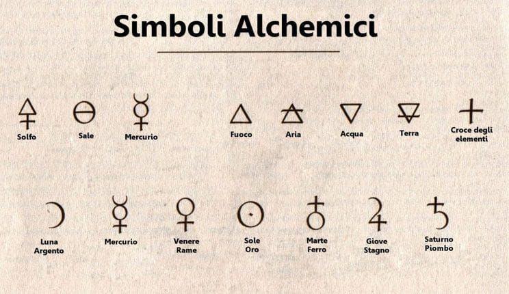 alchimia simboli alchemici
