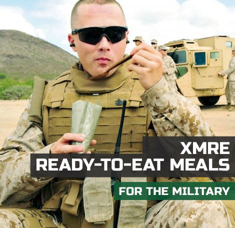 Ready To Eat Meals are the perfect supplement to your emergency food kit. XMRE sells the latest and leading quality MRE Meals Ready To Eat commercially available. JavaScript seems to be disabled in .