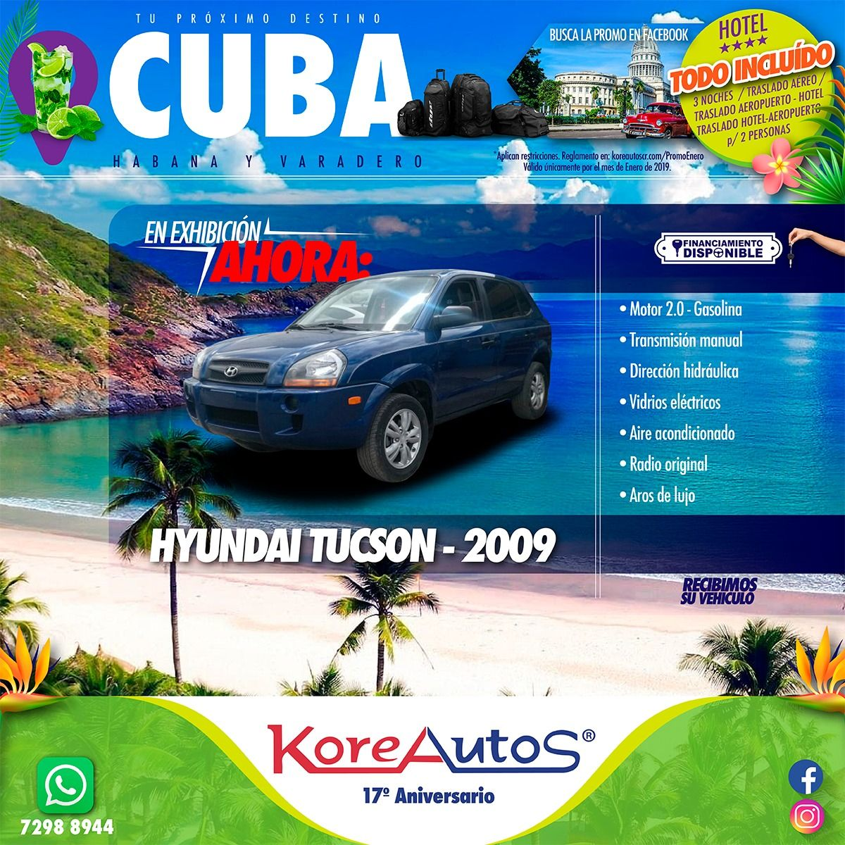 Motor 2.0 Gasolina Transmisión Manual 4X2 5