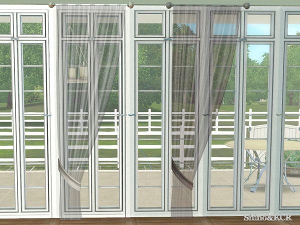 Shinokcr S Monaco Kids Curtain 1x1 Left Sheer