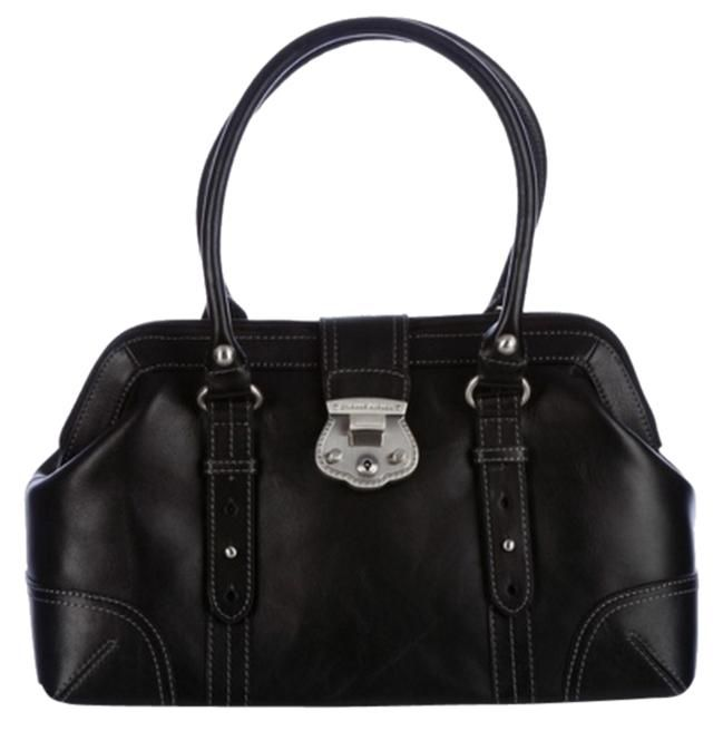 Etienne Aigner Venice Leather Handbag New Black Satchel Save 37 On The
