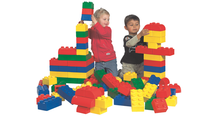 Lego - 45003 - 45003 Lego Soft Starter Set - These giant Lego Soft bricks  are and ideal way