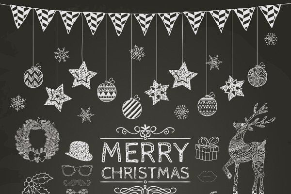 Photo of Christmas Doodle Icons – Illustrations