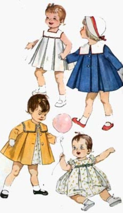 "Vtg 1950s Pattern ~ 16/"" 17/"" Saucy Walker Doll Clothes Sunsuit Party Dress Coat"