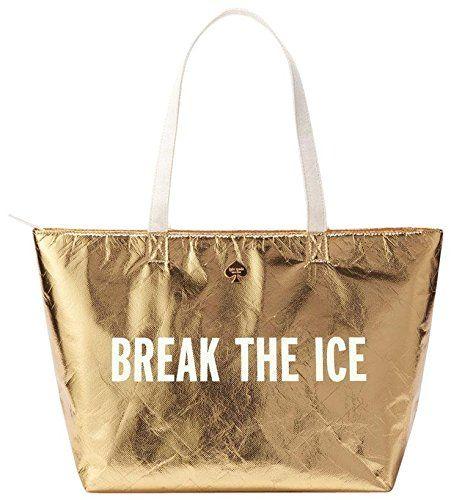 kate spade new york Cooler Bag, Gold (Break the Ice)