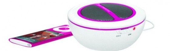 Personal Portable Speaker http://www.everythingpeacock.com/2825/portable-speaker# #speaker #music #ipod