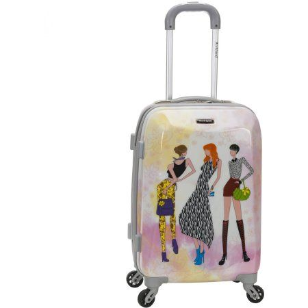 b1d562169f Rockland 20 inch Polycarbonate Carry-On Luggage