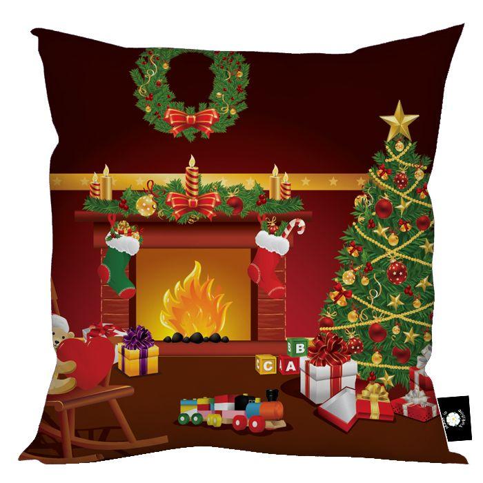 Cartoon Christmas Fireplace | My eFireplaceStore.com ...