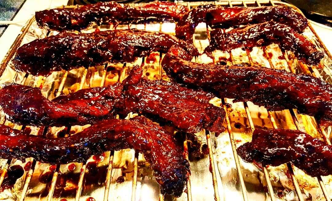 Homemade Beef Rib Fingers With Homemade Sticky Barbecue Sauce Beef Ribs Homemade Beef Food