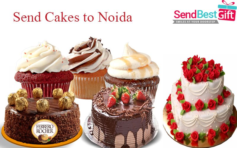 You Search For Online Cake Delivery In Noida Will Surely Ends Here SendBestGift Offers Same Day Midnight Birthday