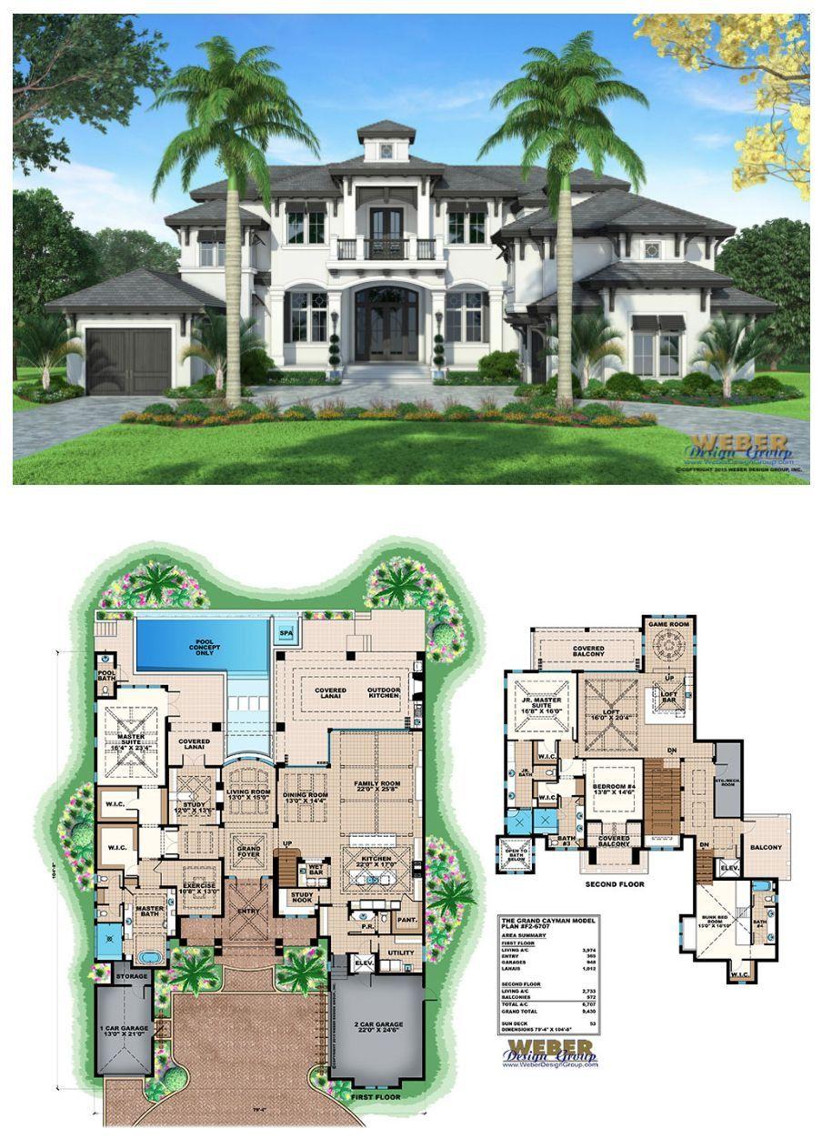 Luxury Coastal Home Plans 2021 House Blueprints Tata Letak Rumah Denah Lantai Rumah