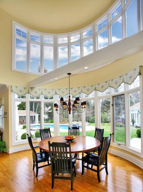 Love The Clerestory Windows Dining Room Windows Clerestory Windows Curved Walls