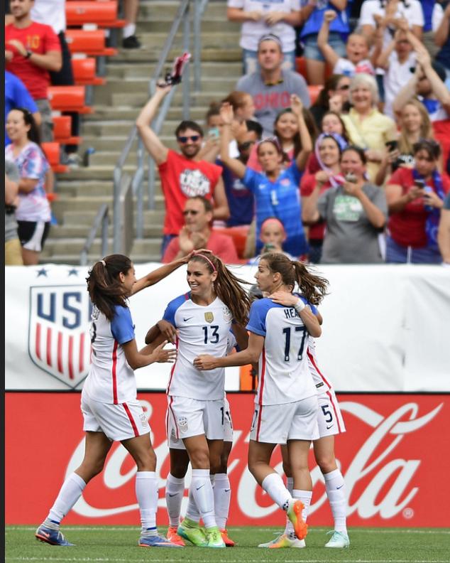 Carli Lloyd Usawomensfootball Instagram Com Boom Punchedourticket Fifa Womens World Cup 2019 F Usa Soccer Women Usa Soccer Team Girls Soccer Team
