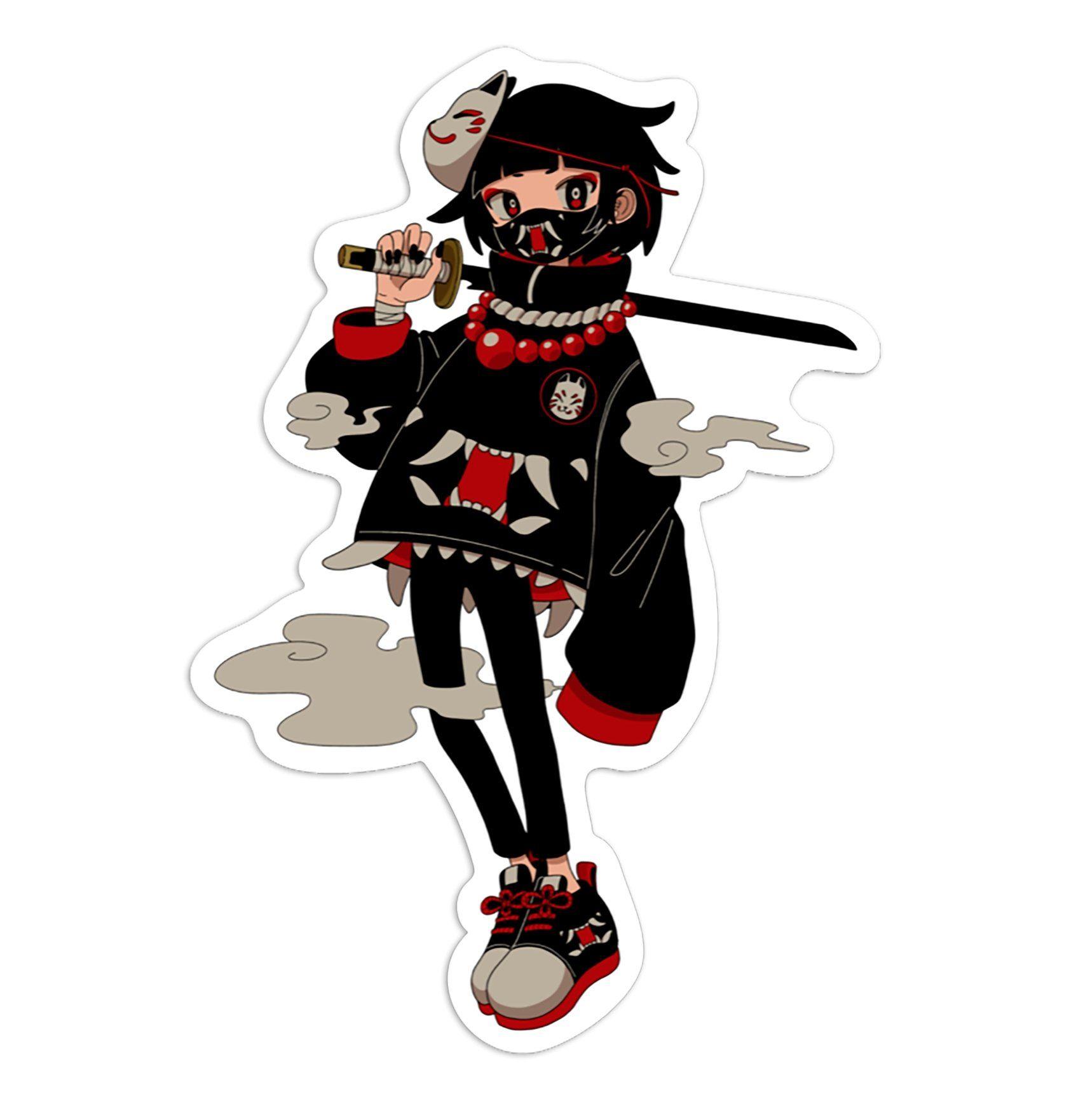 Photo of Shinobi Sticker (Totem x Gurin) – Pack of 3