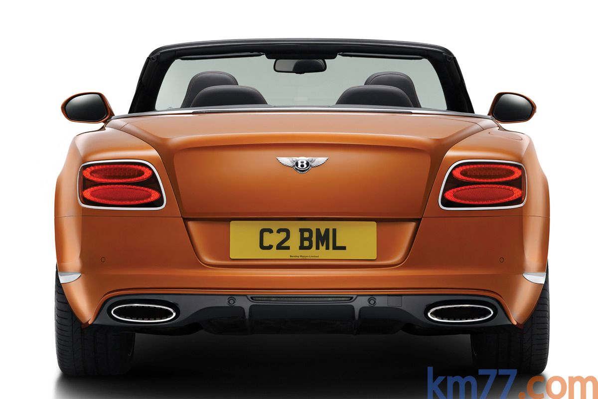 Bentley Continental GTC Speed W12 625 CV
