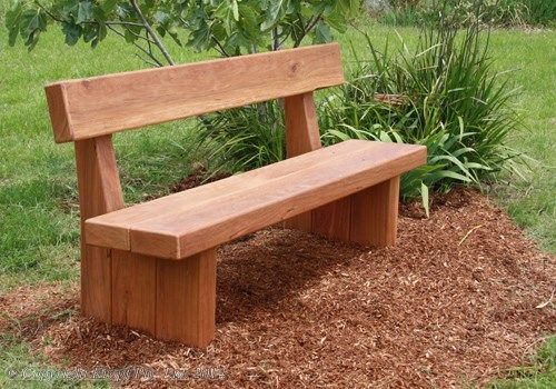 Solid Sleeper Memorial Bench Seat In 2019 Rustic Outdoor