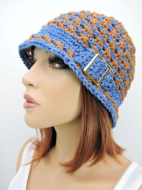 Crochetkim Free Crochet Pattern Speckled Cloche Hat Crochetkim
