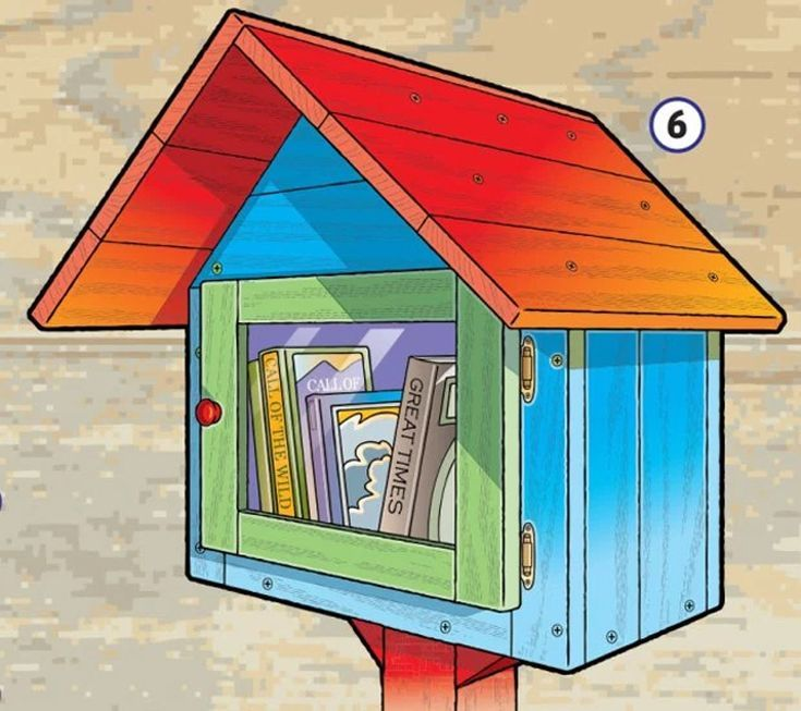 How to Build Your Own Little Free Library Little free