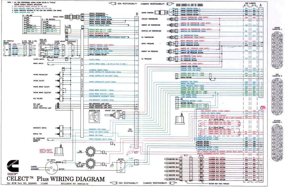 10 cummins ism engine wiring diagram  engine diagram