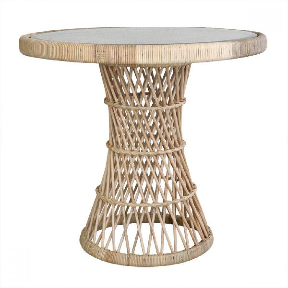 Masa Rotunda Din Ratan Cu Blat Sticla 80 Cm Hk Living Side Table Rattan Side Table Rattan Table [ 1000 x 1000 Pixel ]