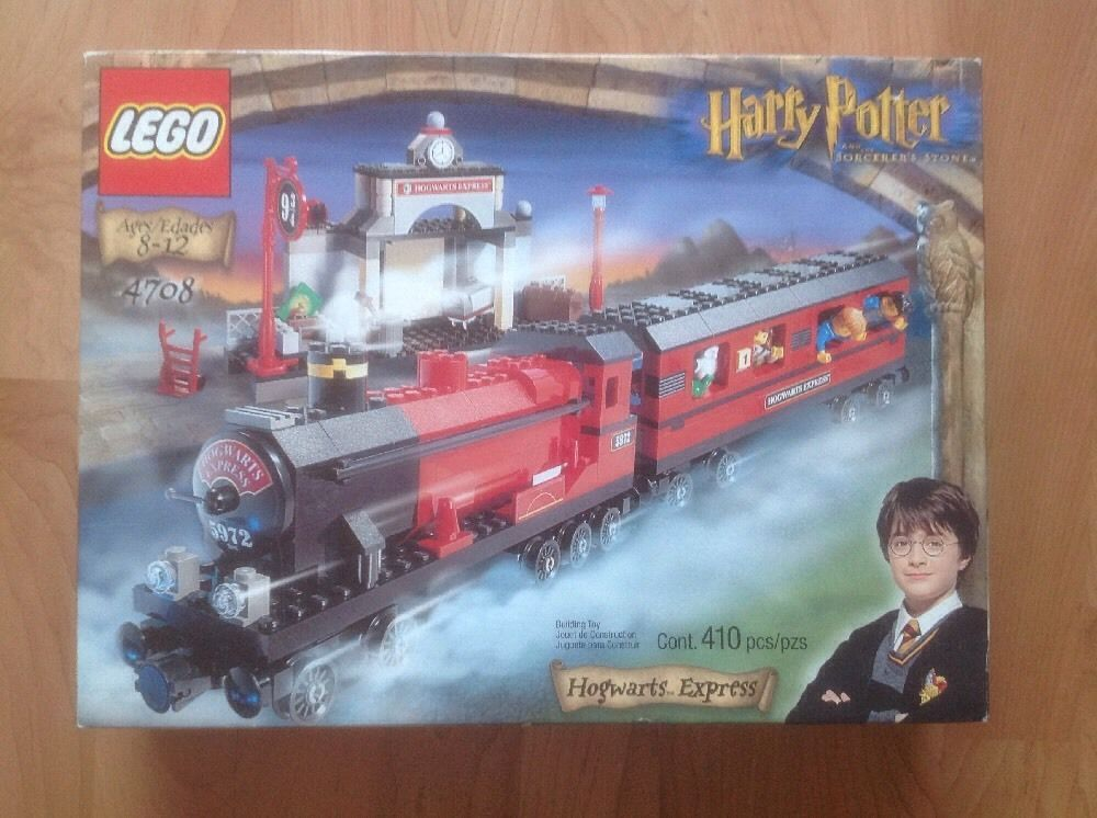 Lego Hogwarts Express 4708 410 Pieces Nib Never Opened Lego