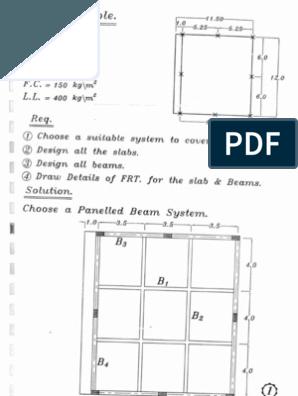 مسائل محلولة تصميم الاسقف Design Solutions Floor Plans